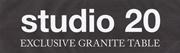 Studio 20 Granittische