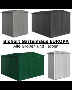 Biohort Gerätehaus EUROPA Konfigurator