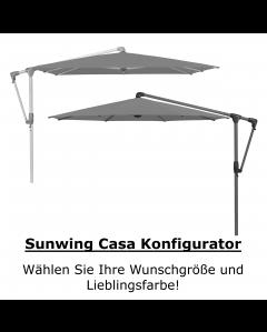 GLATZ Ampelschirm Sunwing Casa Konfigurator