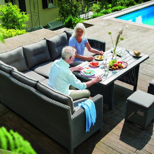 Luxus Gartenmöbel Ecklounge